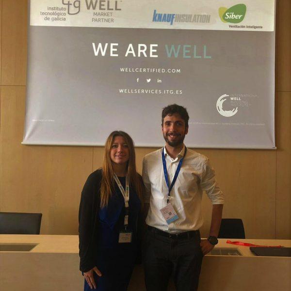Bieito Silva y Cinzia Maggio en el WELL Workshop
